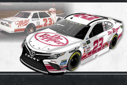 Throwback-Design: Corey Lajoie, BK Racing Toyota