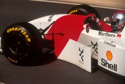 Michael Andretti, McLaren MP4/8 Ford