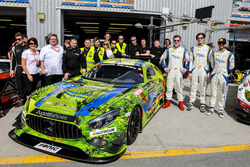 Foto de equipo #16 SPS automotive performance Mercedes AMG GT3: Valentin Pierburg, Tim Müller, Lance