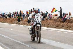 #42 Hero MotoSports Team Rally, CS Santosh