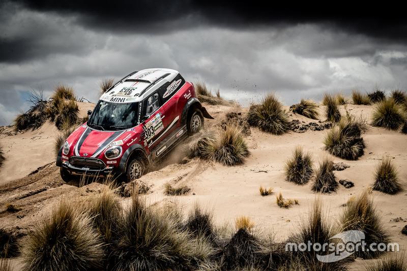 #207 Mikko Hirvonen, Mini All4 Racing