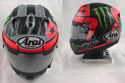 Casco de Maverick Viñales, Yamaha Factory Racing 2017