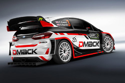 Elfyn Evans, Daniel Barritt, DMACK World Rally Team, Ford Fiesta WRC
