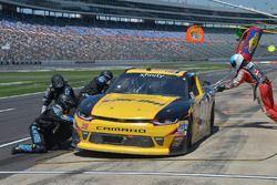 Alex Labbé, King Autosport Chevrolet, makes a pit stop