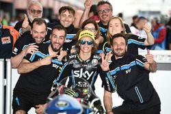 Second place Nicolo Bulega, Sky Racing Team VR46