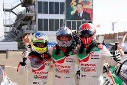Ryo Michigami, Honda Racing Team JAS, Honda Civic WTCC , Tiago Monteiro, Honda Racing Team JAS, Hond