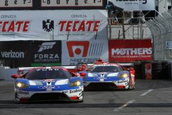 #67 Ford Performance Chip Ganassi Racing Ford GT: Ryan Briscoe, Richard Westbrook, #66 Ford Performa