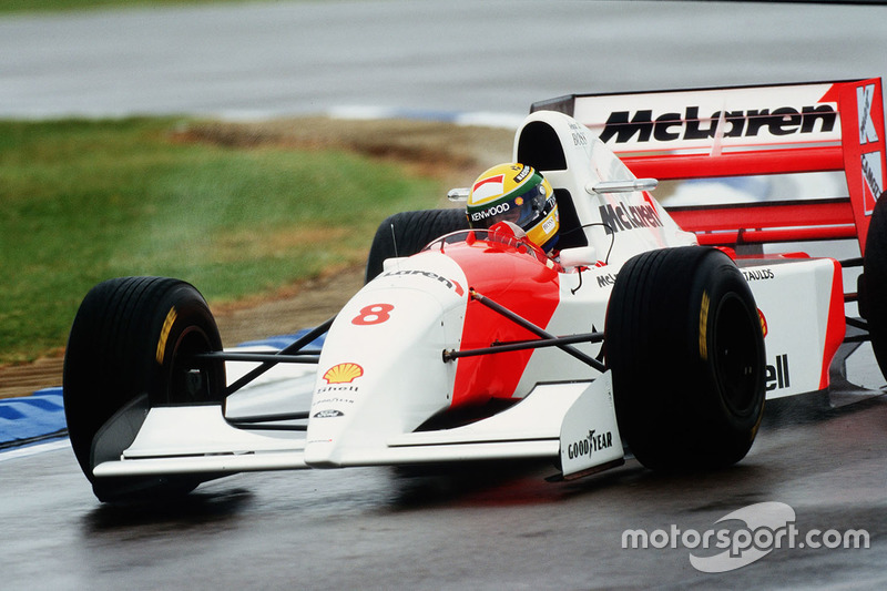 Ayrton Senna, McLaren MP4/8 Ford