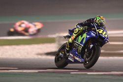 Valentino Rossi, Yamaha Factory Racing, camera hanging off