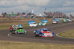Sebastian Diruscio, SGV Racing Dodge, Mauro Giallombardo, Werner Competicion Ford, Leonel Sotro, Di