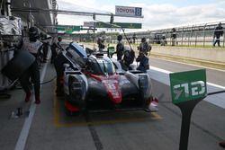 #8 Toyota Gazoo Racing, Toyota TS050 Hybrid: Anthony Davidson, Sébastien Buemi, Kazuki Nakajima