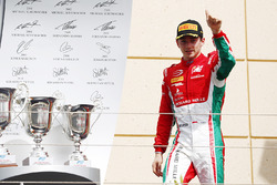 Podium: third place Charles Leclerc, PREMA Racing