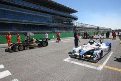 La griglia di partenza di Gara 1 con Ivan Bellarosa, Avelon Formula, Wolf GB 08 Evo-CNT in pole position