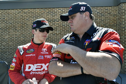 Harrison Burton, Kyle Busch Motorsports, Toyota; Bono Manion