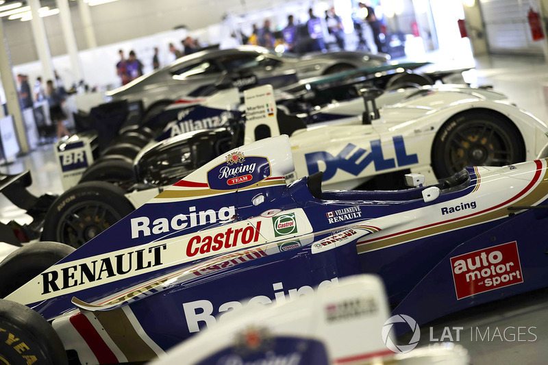 La Willaims FW19 Renault Sport F1 Team de Jacques Villeneuve, en 1997