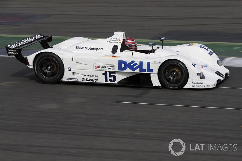Steve Soper drives the 1999 Le Mans-winning BMW