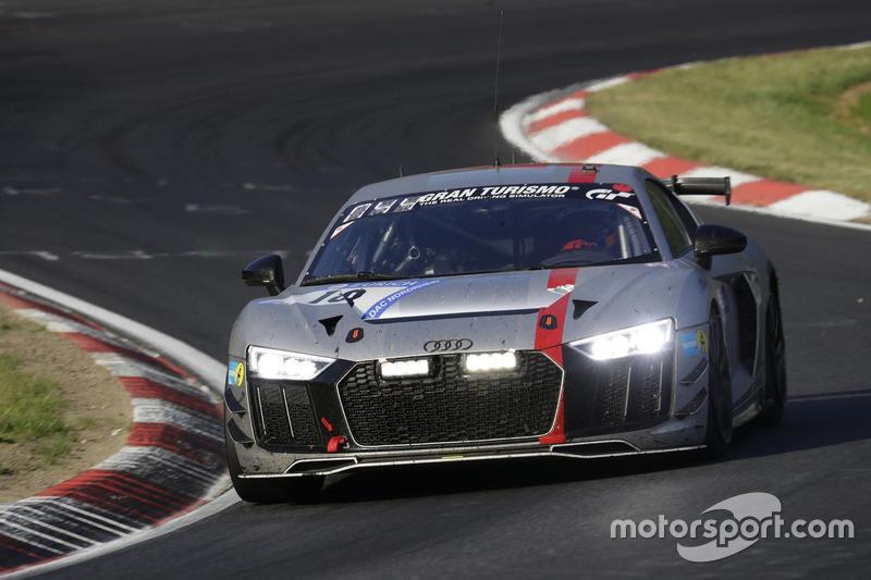 №18 Audi Sport Team Phoenix, Audi R8 LMS GT4: Кристиан Абт, Рахель Фрей, Патрик Хьюсман, Петер Тертинг