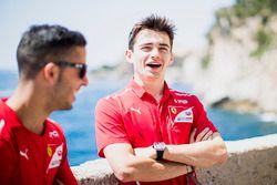 Antonio Fuoco, PREMA Powerteam e Charles Leclerc, PREMA Powerteam