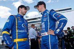 Austin Cindric, Brad Keselowski Racing, Ford; Chase Briscoe, Brad Keselowski Racing, Ford