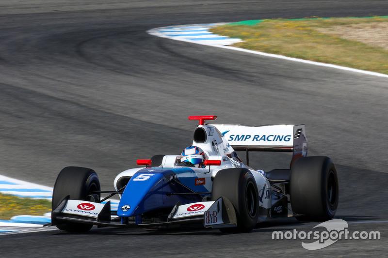 Егор Оруджев, SMP Racing by AVF, Мировая серия Формула V8 3.5