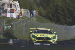 #48 Mann-Filter Team HTP Motorsport, Mercedes-AMG GT3: Kenneth Heyer, Bernd Schneider, Indy Dontje,