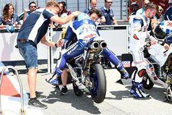 Jorge Martin, Del Conca Gresini Racing Moto3, stopped in Parc Ferme