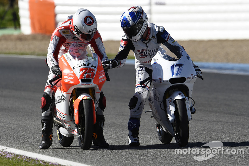 John McPhee, British Talent Team, Albert Arenas, Aspar Team