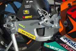 Bike von Brad Binder, Red Bull KTM Ajo