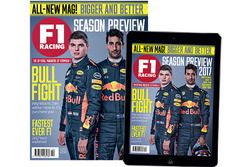 Cover F1 Racing, April 2017