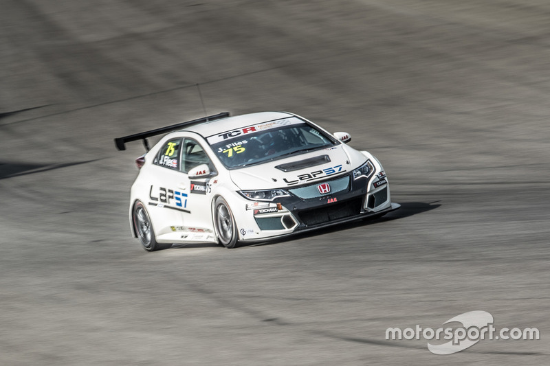 Josh Files, Honda Civic TCR, Lap57
