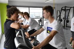 Тренування у спортзалі, Франко Морбіделлі та Микита Калінін