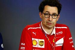 Mattia Binotto of Ferrari