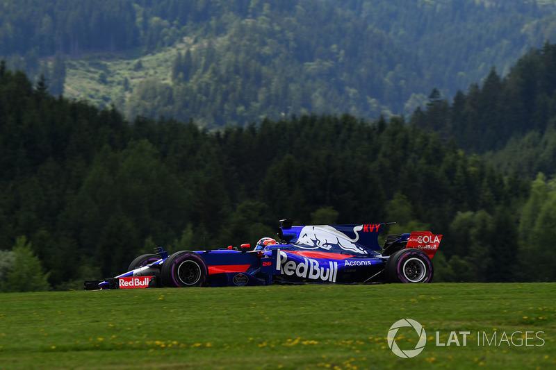 14. Daniil Kvyat, Scuderia Toro Rosso STR12