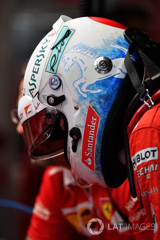 Side shot of the helmet