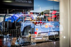 La voiture d'Andreas Mikkelsen, Anders Jæger, Hyundai i20 WRC, Hyundai Motorsport