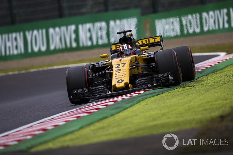 10. Nico Hulkenberg, Renault Sport F1 Team RS17