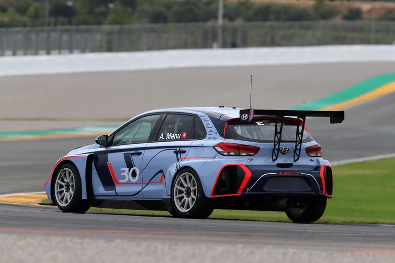 Alain Menu, Hyundai i30 N TCR