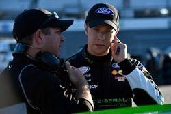 Brad Keselowski, Team Penske Ford and Brian Wilson