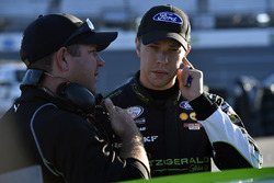 Brad Keselowski, Team Penske Ford and Brian Wilson