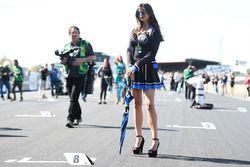 Une gridgirl