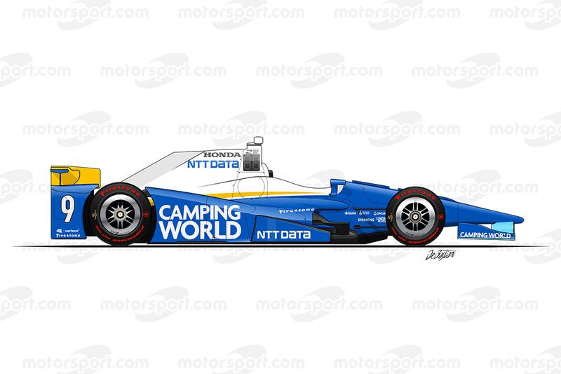 #9 - Scott Dixon, Chip Ganassi Racing Honda