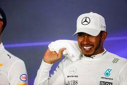 Persconferentie: racewinnaar Lewis Hamilton, Mercedes AMG F1