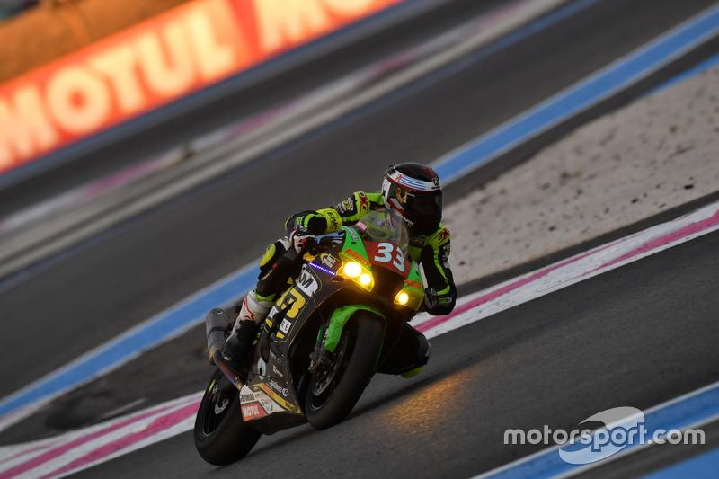 9. #33 Team 33 Accessoires - Louit Moto, Kawasaki: Corentin Perolari, Chris Leesch, Gabriel Pons