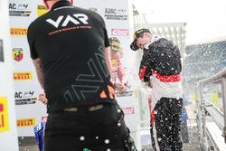 Podium: Artem Petrov, Van Amersfoort Racing