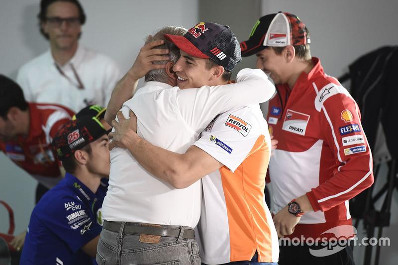 Marc Márquez, Repsol Honda Team, Giacomo Agostini
