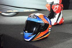Il casco di Jorge Navarro, Federal Oil Gresini Moto2