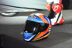 Helmet of Jorge Navarro, Federal Oil Gresini Moto2