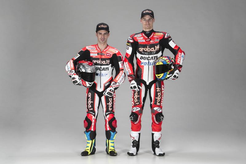 Marco Melandri und Chaz Davies, Ducati Team
