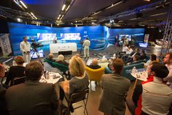 Ambiente de la Conferencia de prensa