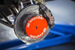 Hyundai Motorsport Hyundai i20 Coupe WRC detalle de freno